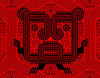 Khurus: Tipografía, ilustraciones y patterns