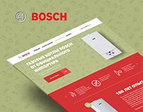 Landing page Bosch