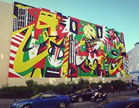 Desperados Mural