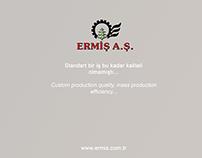 Motto & Slogan for Ermiş A.Ş.
