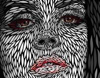 Lana Del Rey | Vector portrait