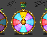 Treasure Hunters game development process