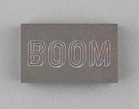Boom Logo identity