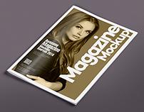 14 Magazine Spread Mockups Vol. 7