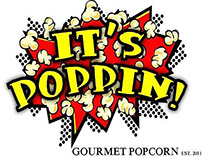 It's Poppin Logo