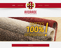 Andrade Textil - Template Website