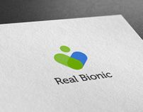 """Логотип """"Real Bionic"""""""