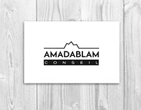 AMADABLAM - logo, identité visuelle