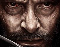 Hugh Jackman in film Logan