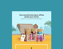 Email Designs - Omay Foods