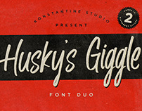 Husky Giggle - Casual Brush Handwriting Font