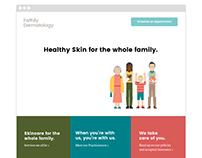 Family Dermatology Web Design + Development
