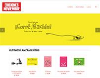 Página Web Ediciones Noviembre