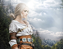 Ciri - The Witcher Modèle : Enora Cosplay