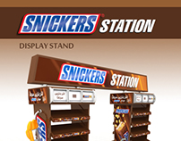 SNICKERS - Display Stand