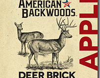 American Backwoods Label Illustrated by Steven Noble