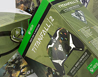 Titanfall 2 Controller and Headset Packaging