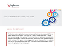 Performance Testing Solution For Finance Tracking App