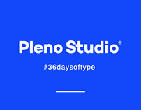 #36DAYSOFTYPE por Pleno Studio