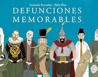 Defunciones Memorables | Anexia Ediciones