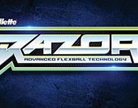 RAZOR- Typography