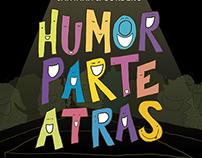Humor parte atrás | Poster design