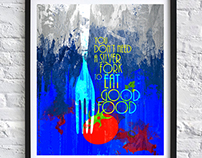 Food Quotes Posters