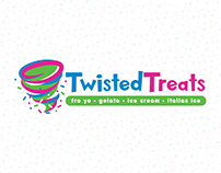 Twisted Treats | FroYo Branding & Marketing Materials