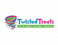 Twisted Treats   FroYo Branding & Marketing Materials