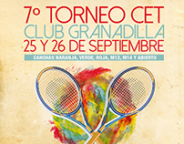 Afiches para Club de Tenis Viña del Mar