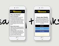 The Cystic Fibrosis Trust Website Design