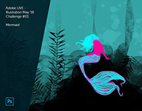 Adobe Live - Illustration - May 18 - Daily Challenge 1