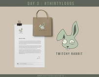 Twitchy Rabbit Logo Redesign