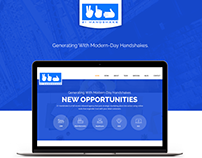 Homepage revamp for Marketing consulting company