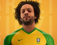 Brazil Soccer Team Uniform Redesign