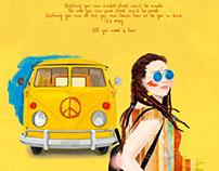 My hippie bus