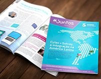 Revista institucional #Juntos (Rhodia Solvay Group)