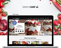 Cooking Portal Homepage Responsive Website