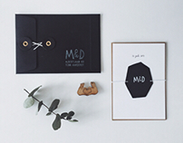 WEDDING INVITATION — maaike+dries