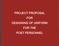 Designing of uniform for the Indian Post Personnel