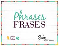 Phrases - Frases