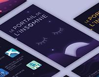 Le portail de l'insomnie / apps