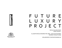 Future Luxury Project design for LVMH group