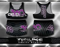 Cheer 360 Sport Bra & Shorts