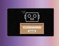 DailyUI #026 Subscibe Widget