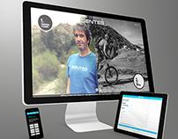Sentee - Logo design & webdesign