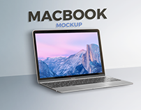 New Macbook Mockup