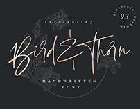 Bird & Thorn Font