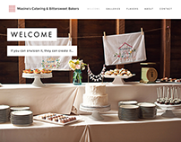 'Bittersweet Bakers' Website Refresh