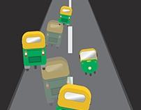 Traffic Awareness - Poster Design.